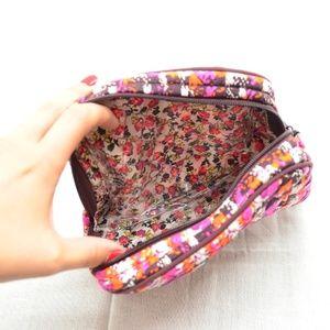 Vera Bradley Bags - Vera Bradley Houndstooth Tweed Cosmetic Bag